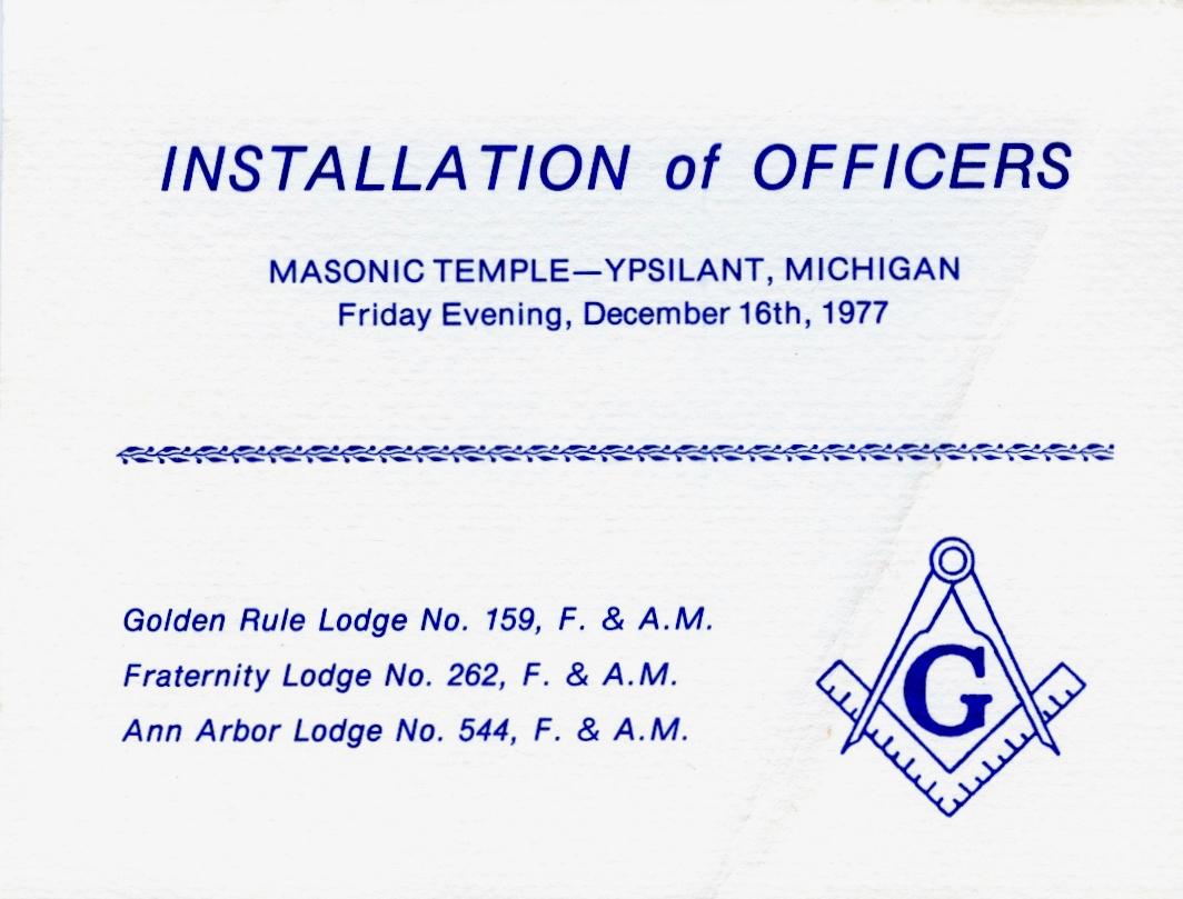 1978 Installation Page 1