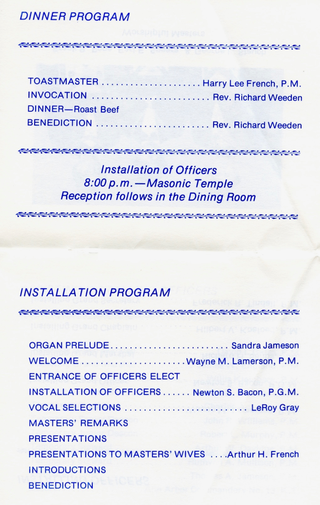 1978 Installation Page 3 & 4