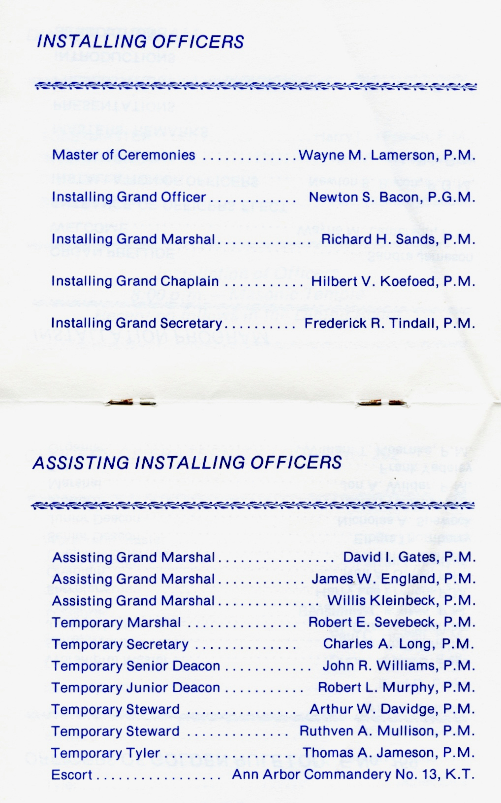1978 Installation Page 5 & 6
